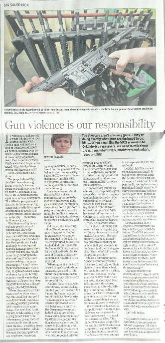 Gun Violence is Our Responsibility