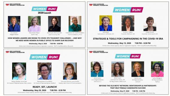 NH Women's Foundation Women Run! 2020